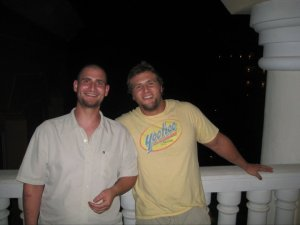 Chris & Jimmy in Jamaica June 2011